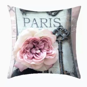 Other - Pillow Cover Paris Key